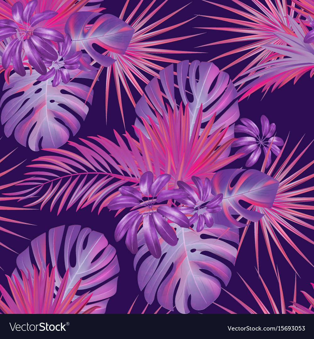 Exotic Tropical Vector Background With Hawaiian Vector Image Check out our hawaiian background selection for the very best in unique or custom, handmade pieces from our shops. vectorstock