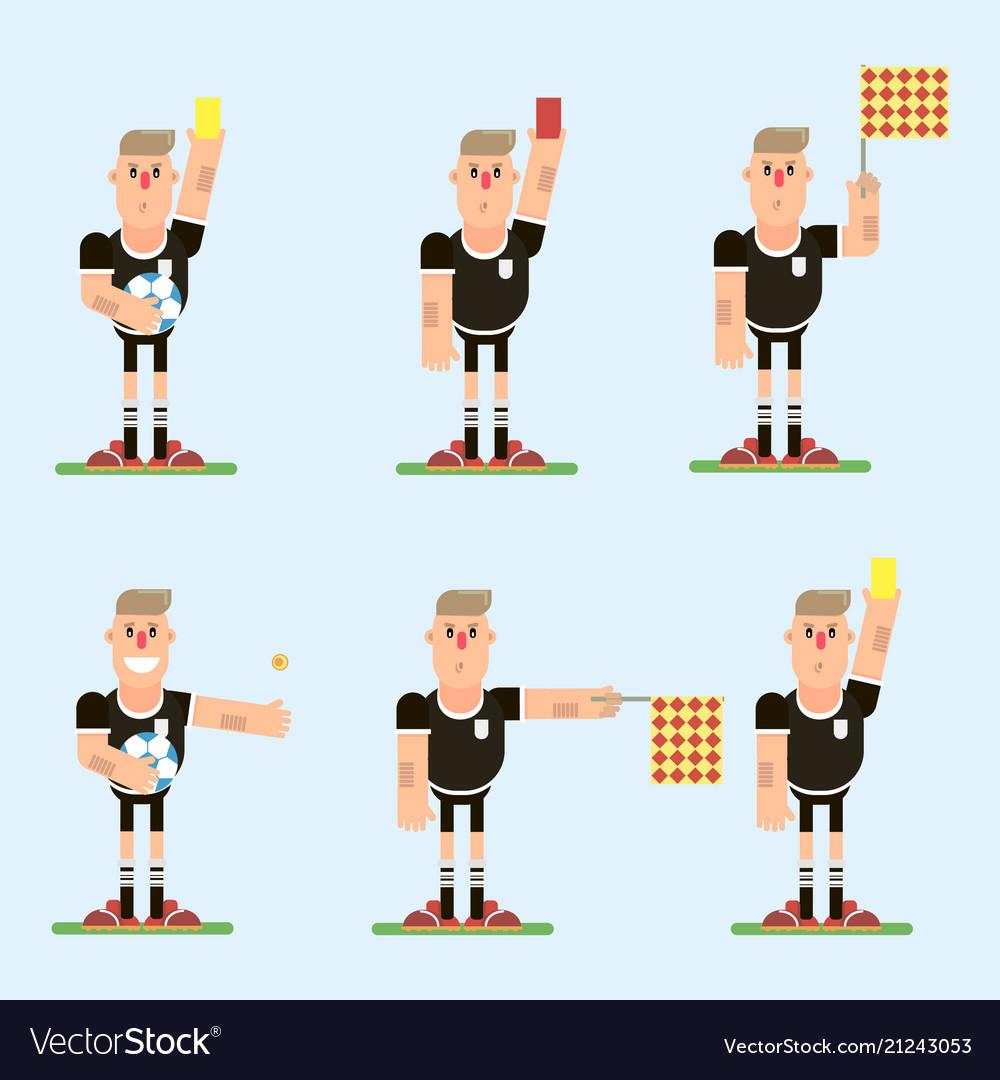 Football referee character