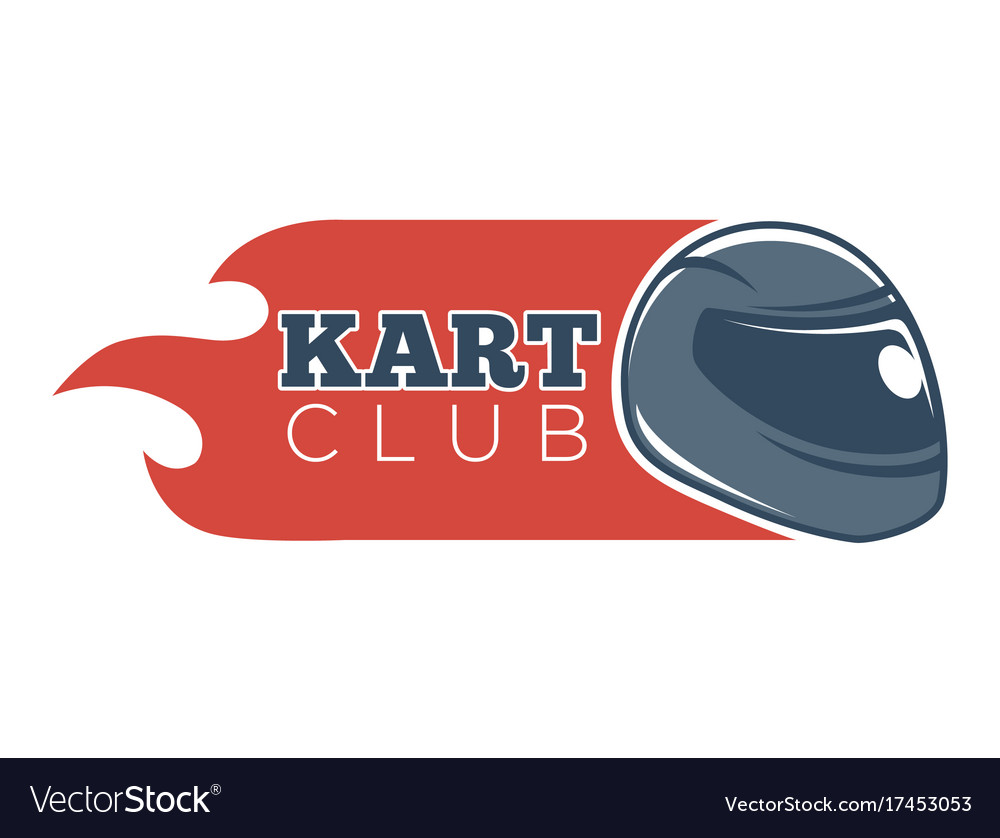 Karting club or kart races sport competition