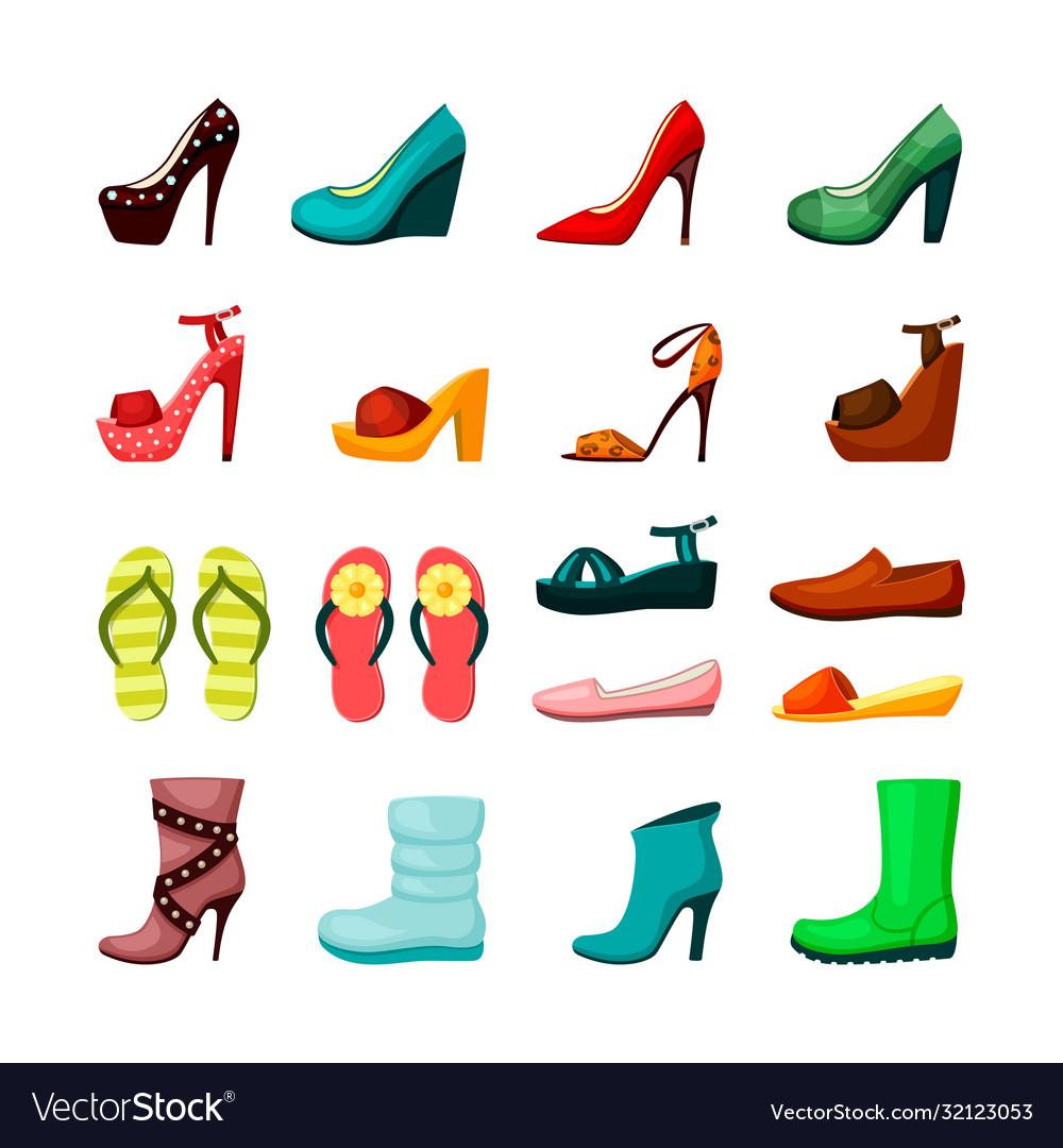 Womens shoes set elegant evening shoes platform