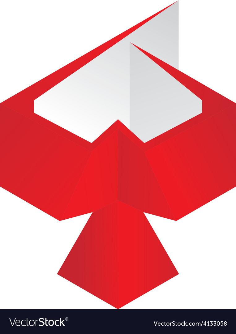 Bird 3D logo