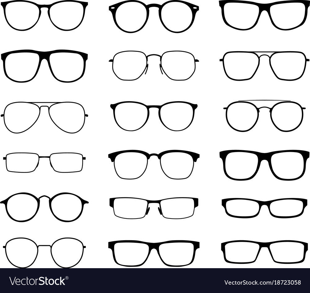Monochrome glasses for sight with a transparent