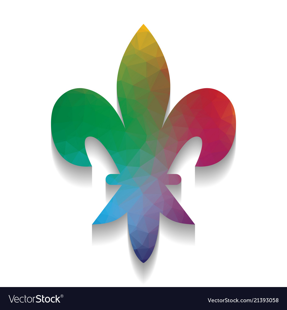 Royal Lily Flower Of King Iris Of Queen Royalty Free Vector