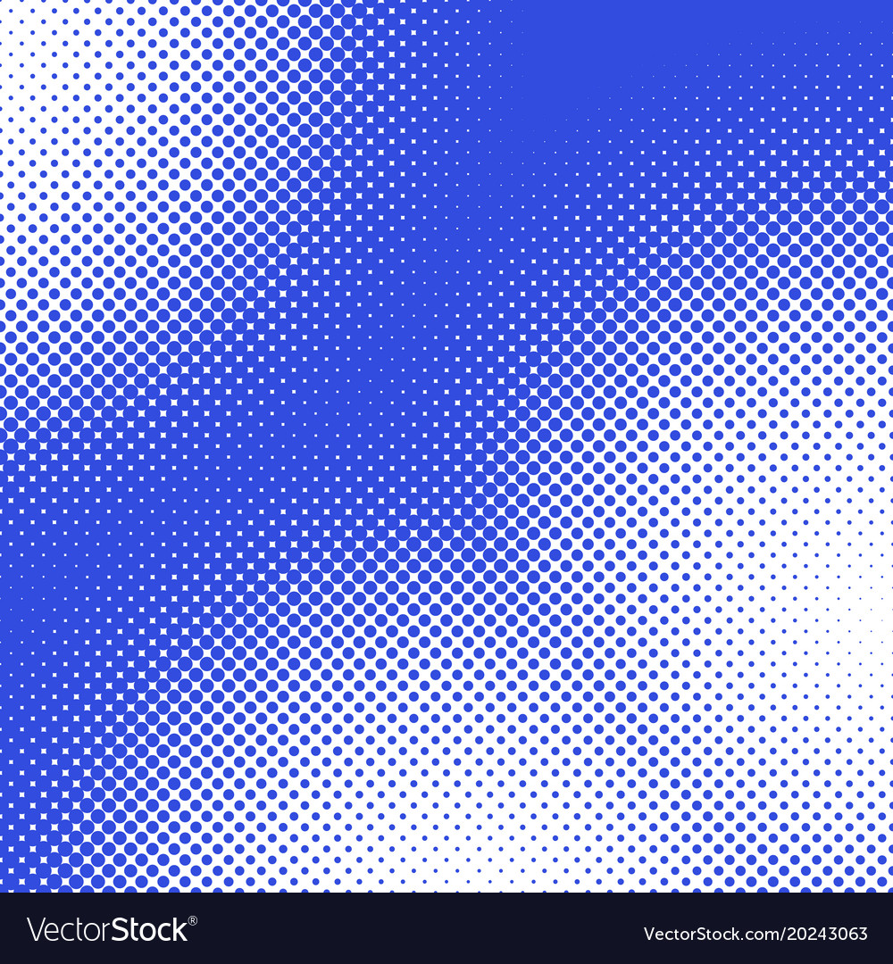 Retro abstract halftone dot pattern background vector image