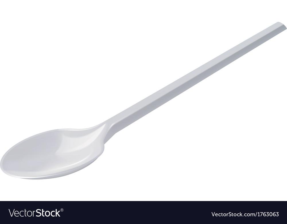 Spoon vector image