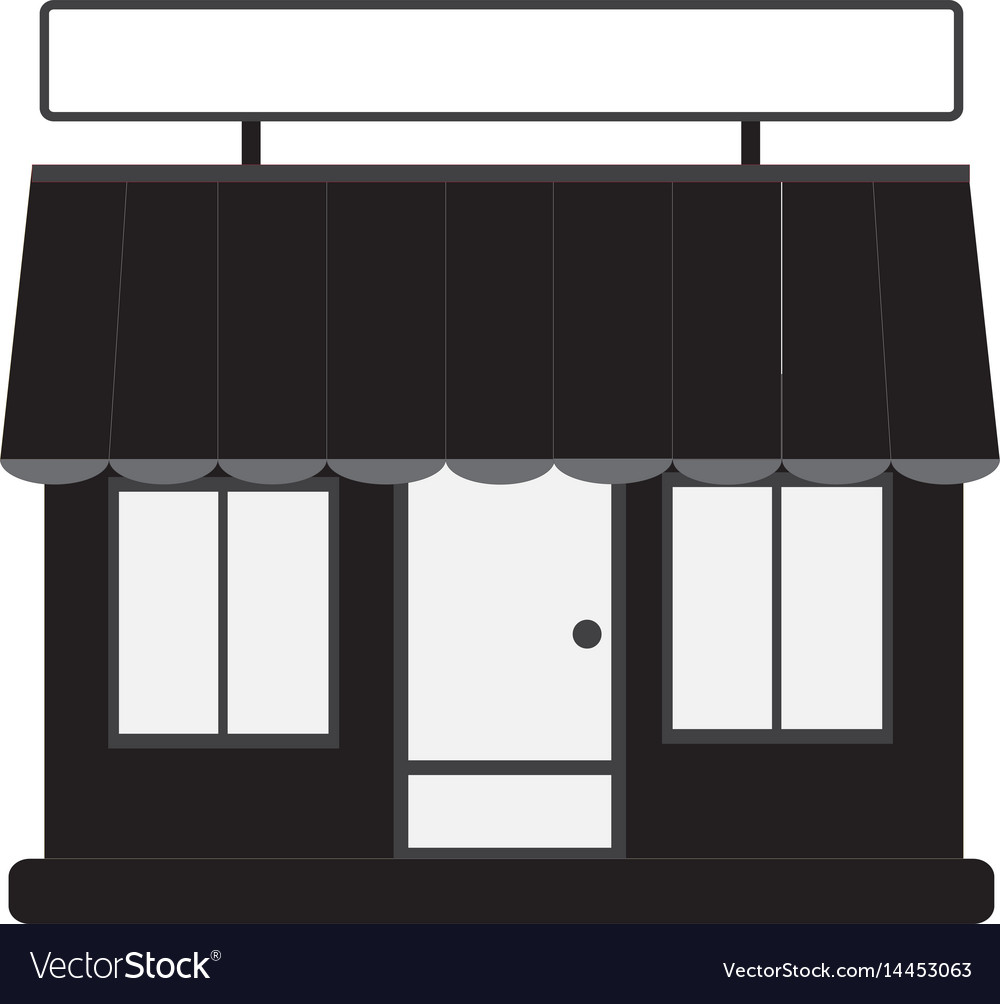 Store front shop and market