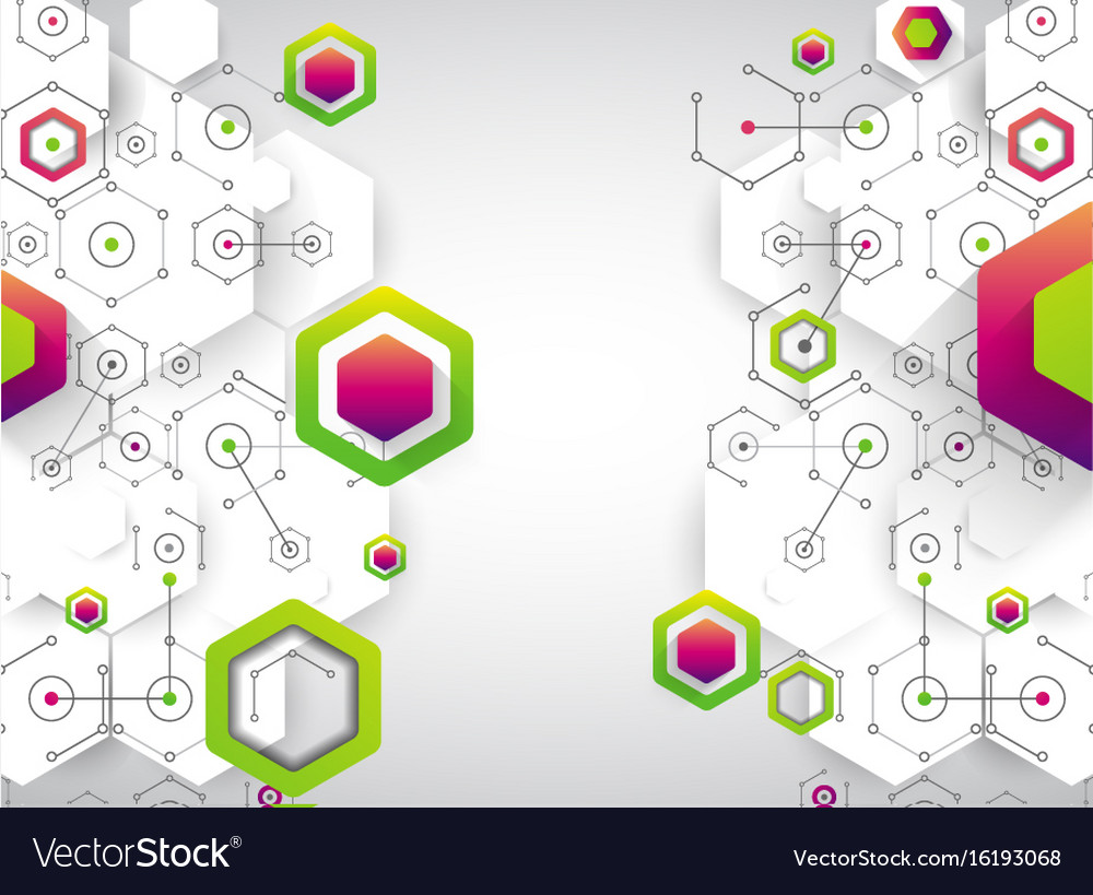 Abstract background science template wallpaper or