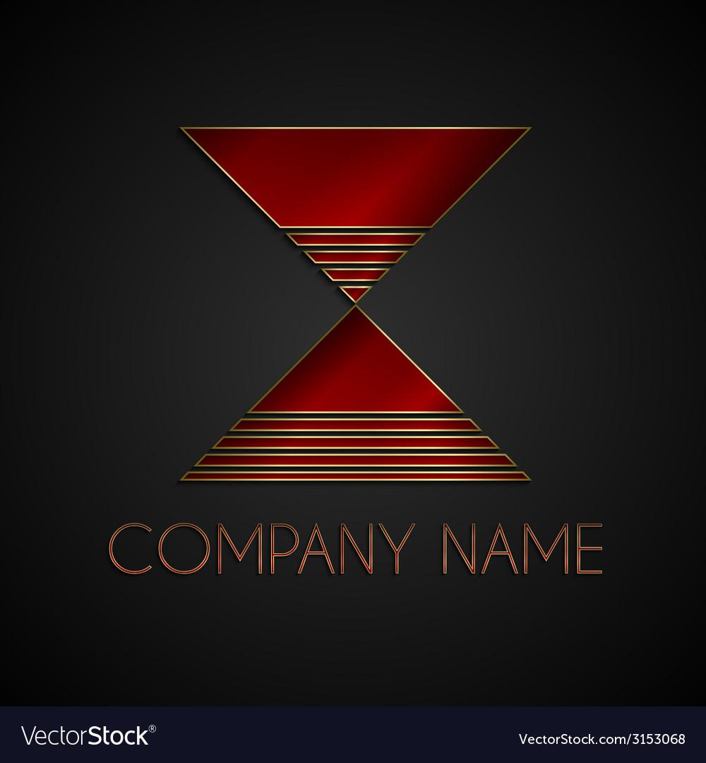 Abstract company name logo