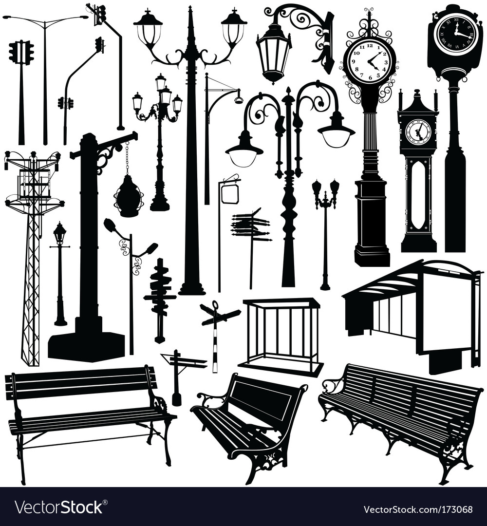 City objects traced
