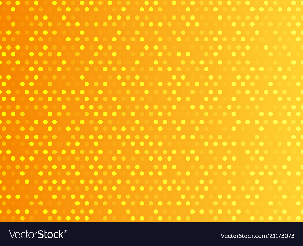 Abstract technology digital orange pattern dots