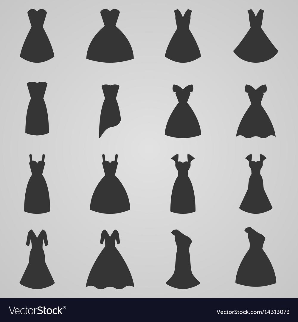 Set of women dress