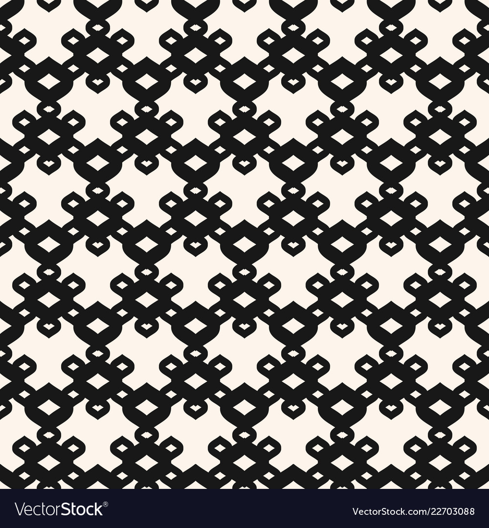 Black and white pattern abstract seamless