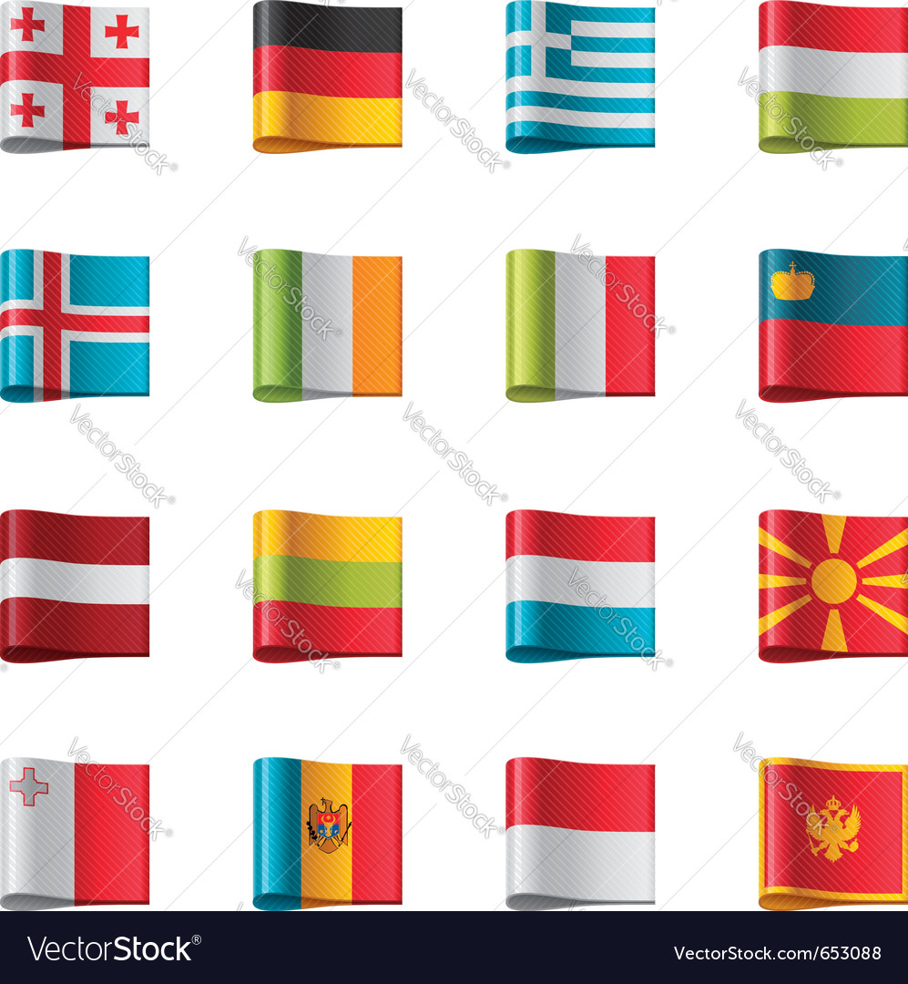 Flags - europe part 2