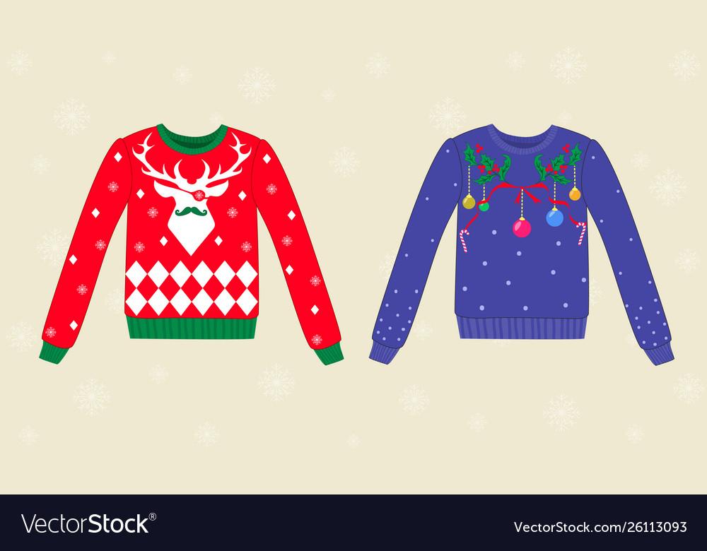 Ugly Sweater Christmas.Christmas Ugly Sweaters