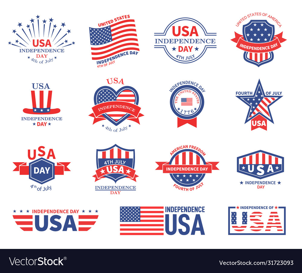 Independence day usa american flag patriots