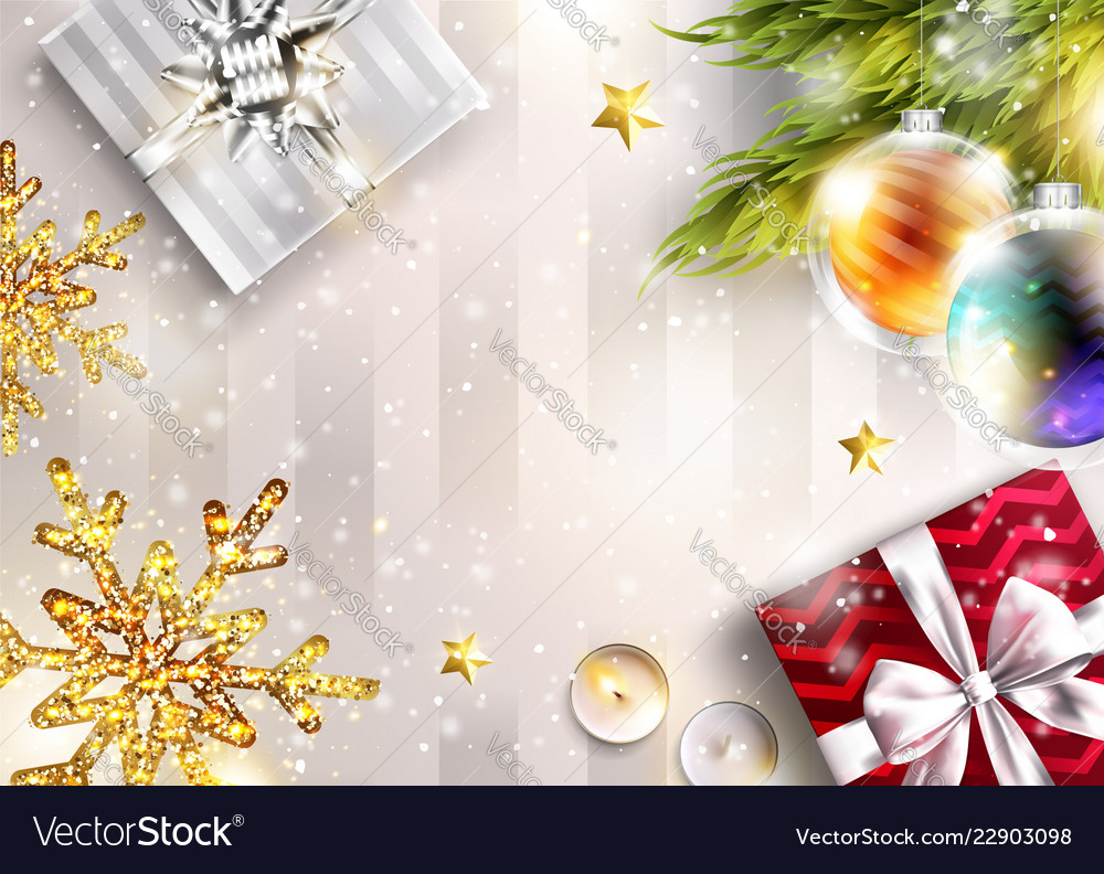 Christmas Graphics Background.Christmas Background With Copy Space