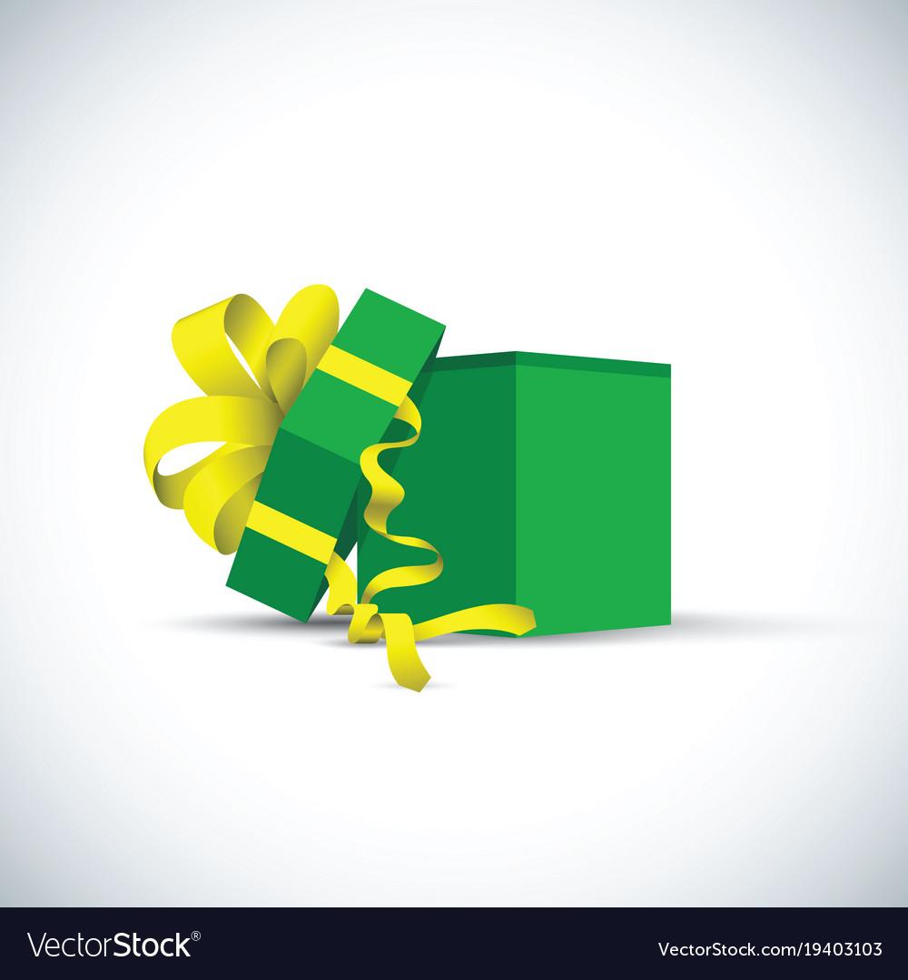 Green present gift