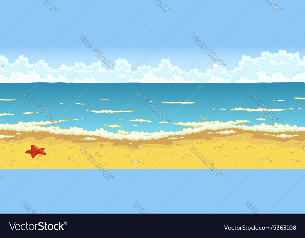 Bathing beach