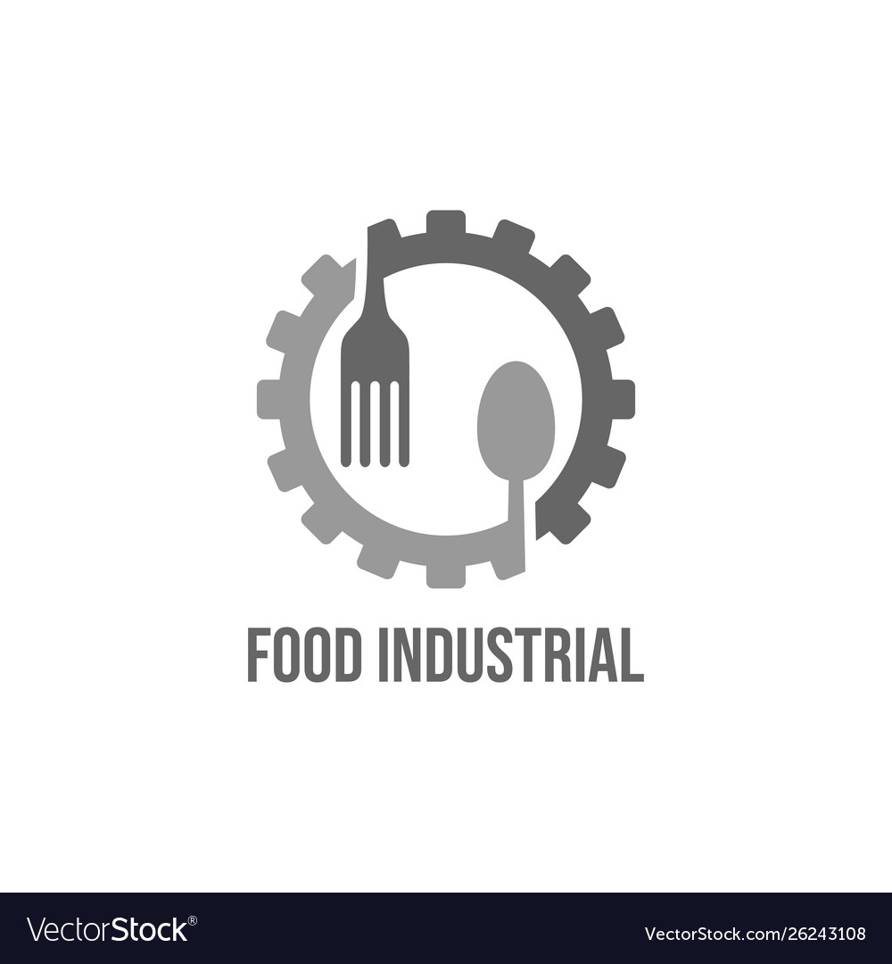 Food industry logo design