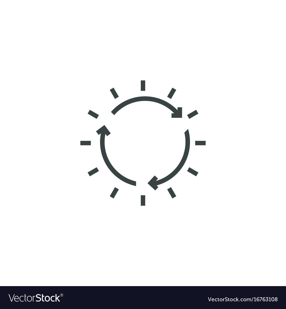 Sun icon simple