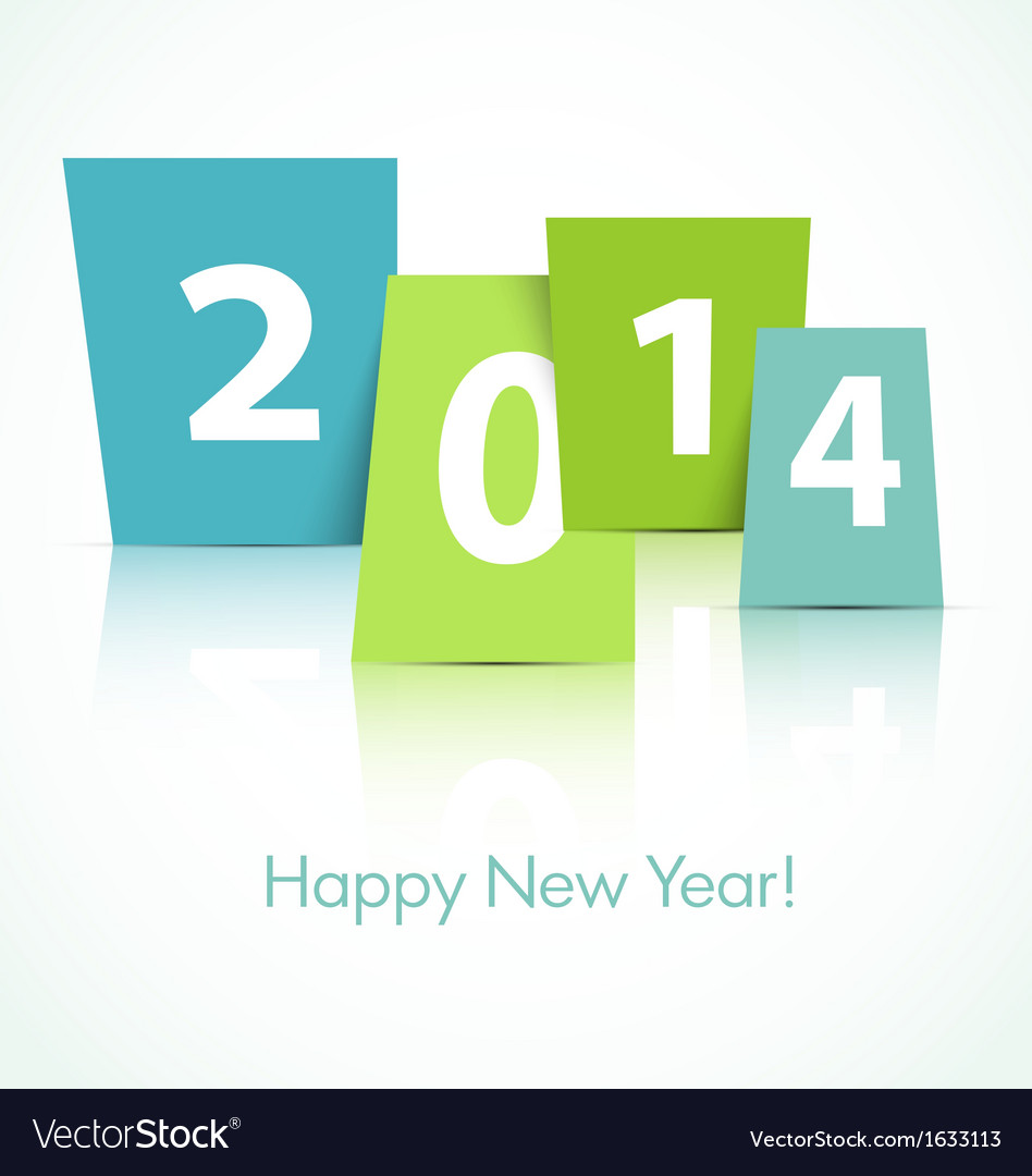 2014 new year card