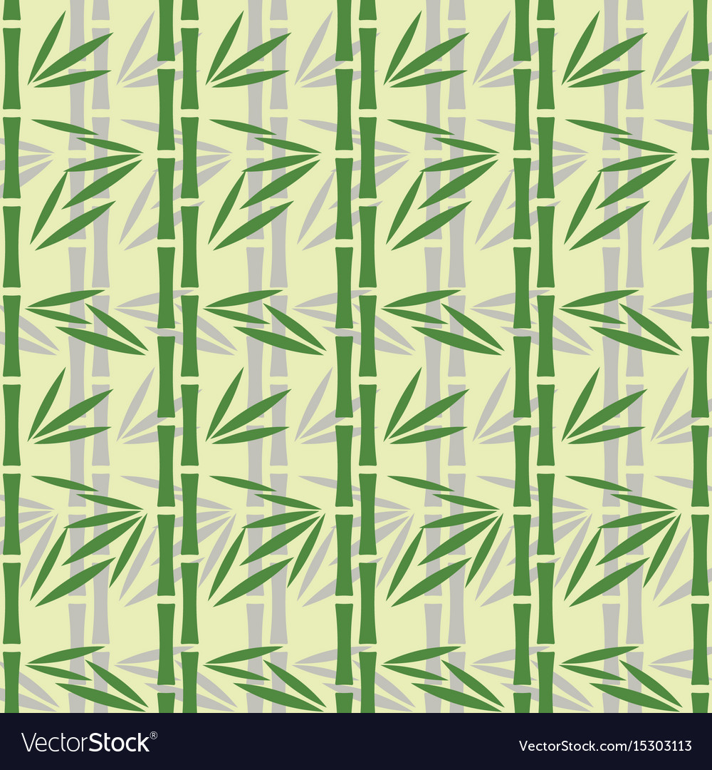 Abstract bamboo pattern