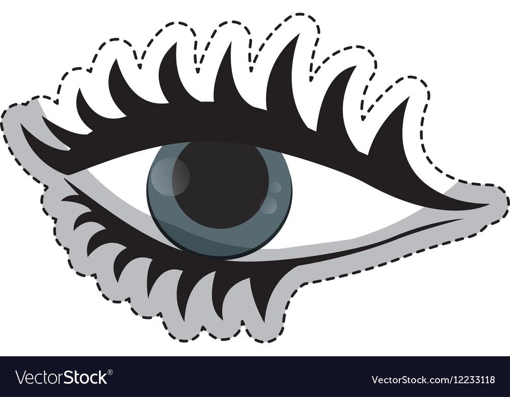 Woman eye icon