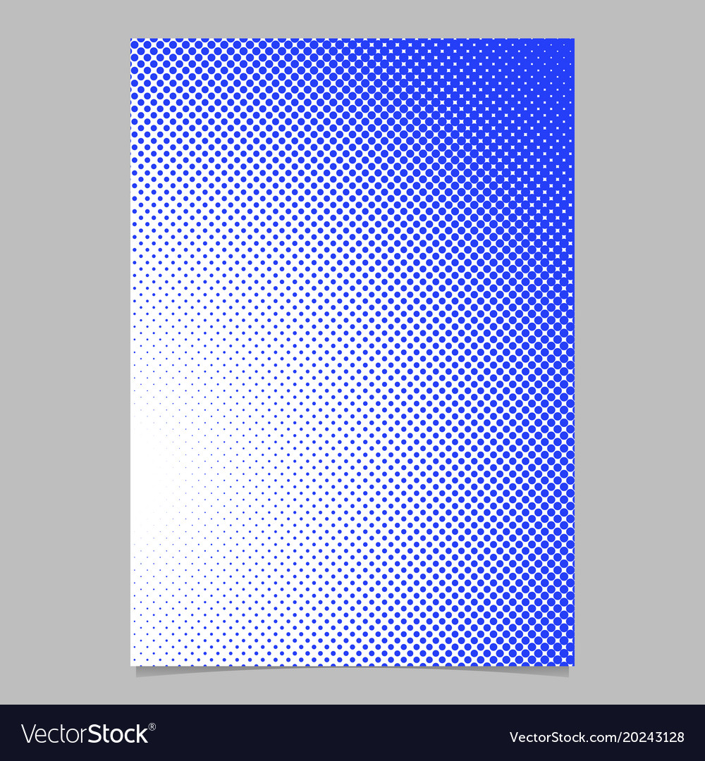 Geometric halftone circle pattern background