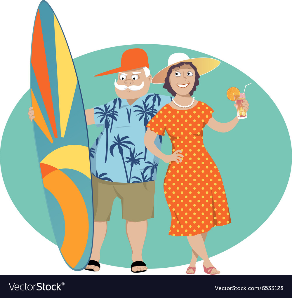 Happy Retirement vector image