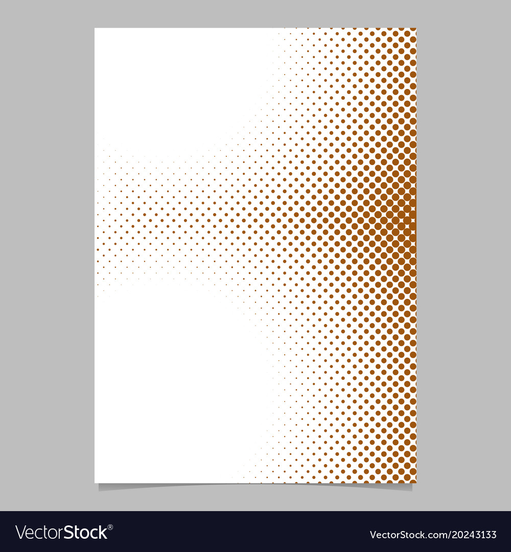 Abstract halftone dot pattern background flyer