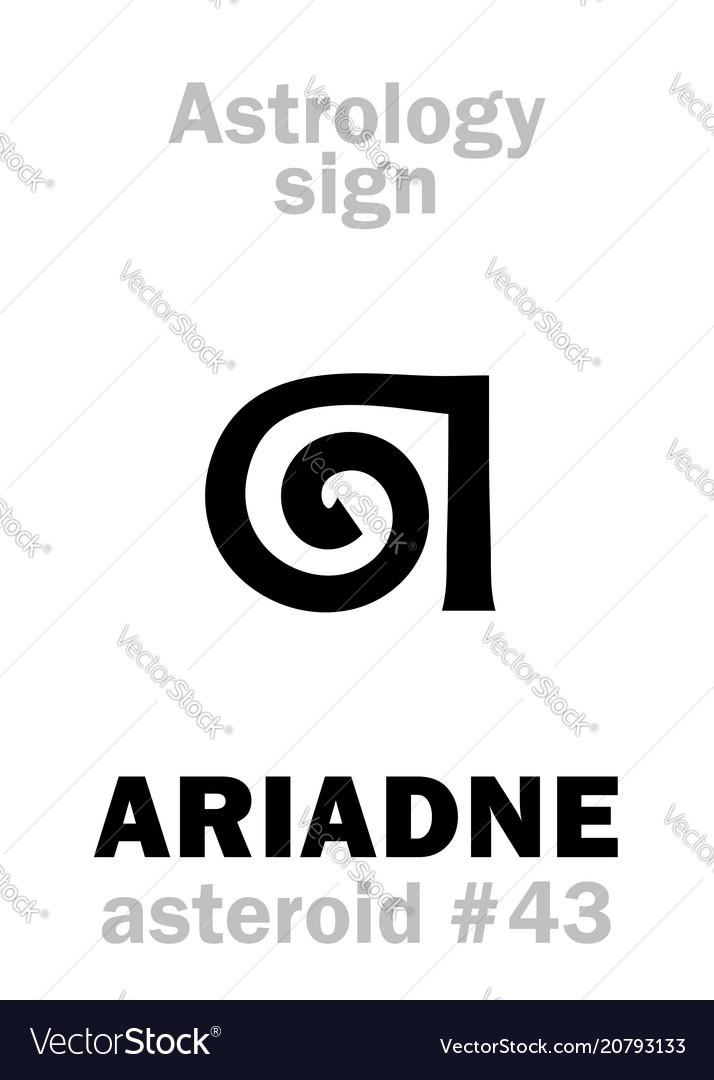 Astrology asteroid ariadne