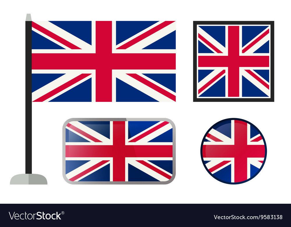 British flag icons