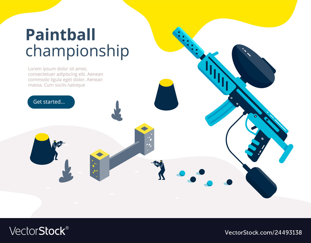 Paintball championship banner