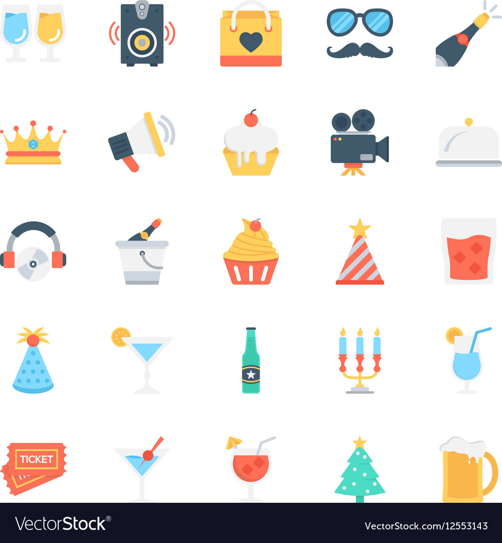 Party and Celebration Icons 1