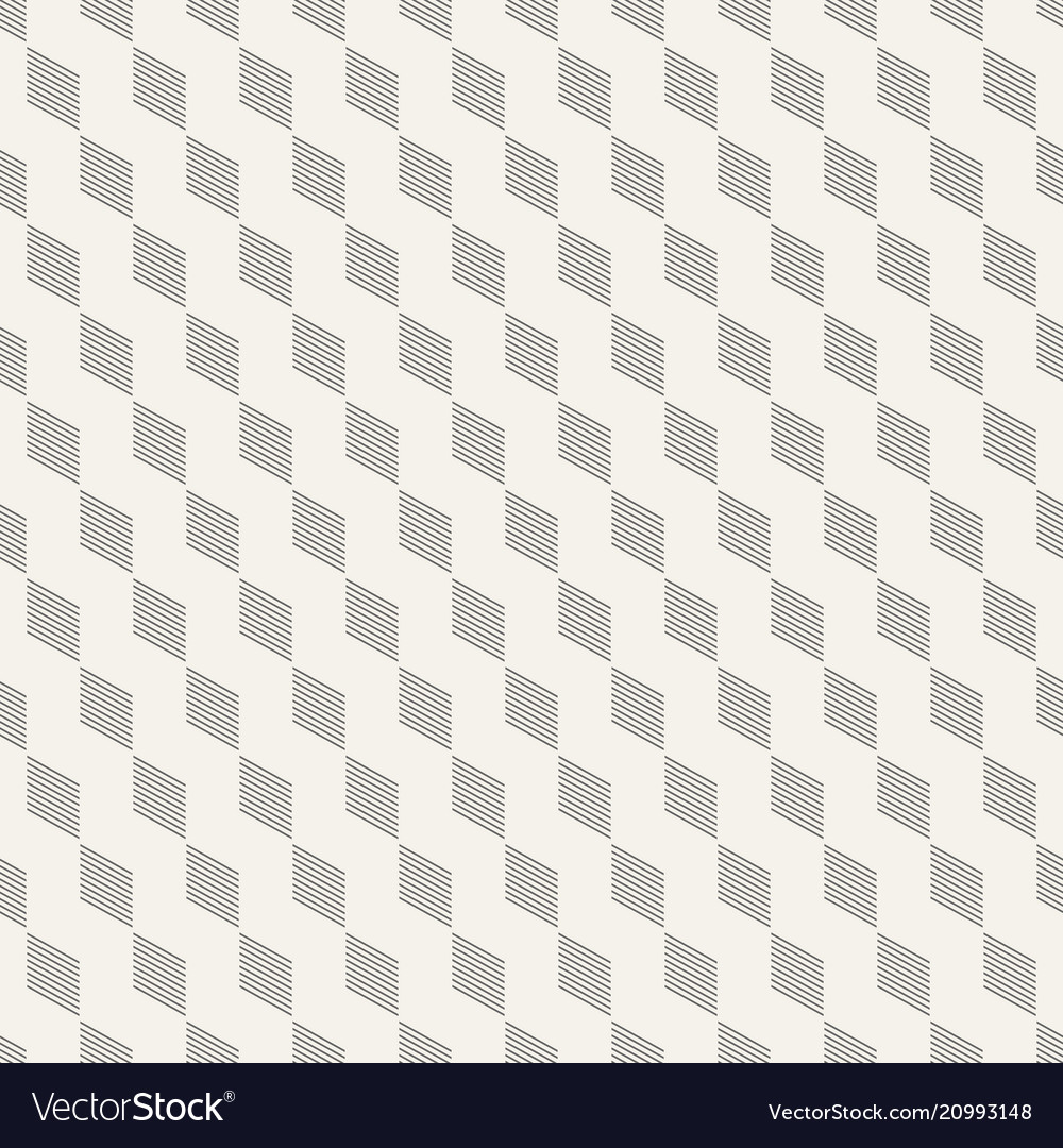 Abstract seamless pattern of thin slanted lines vector image