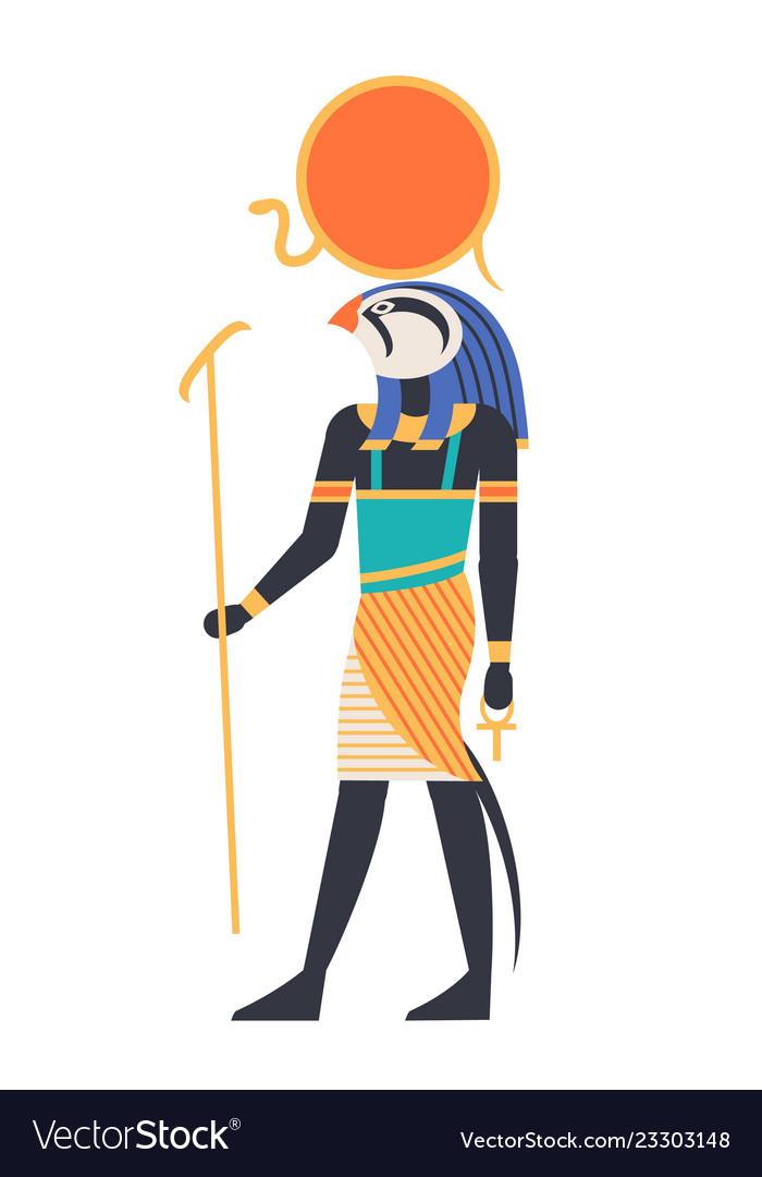 Ra - god of sun creator deity or mythological