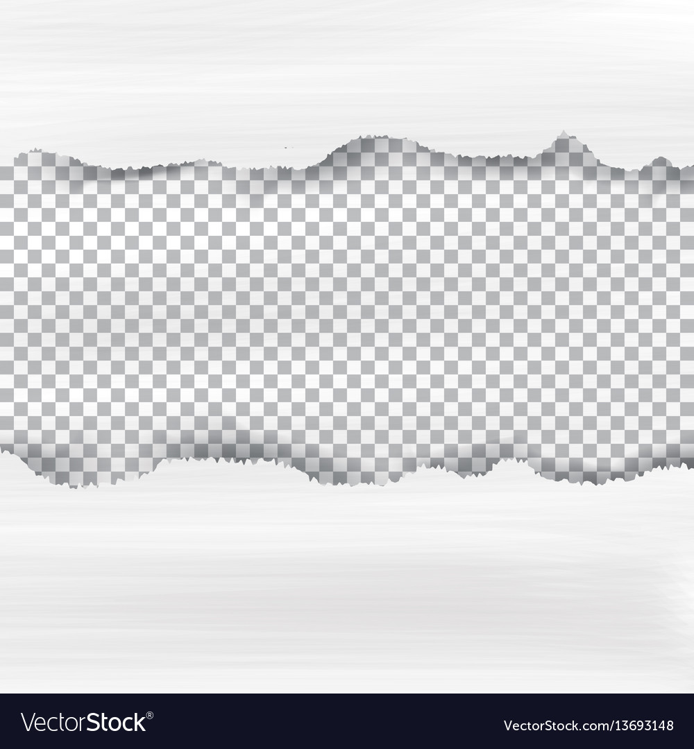Ripped paper and checkered background with space