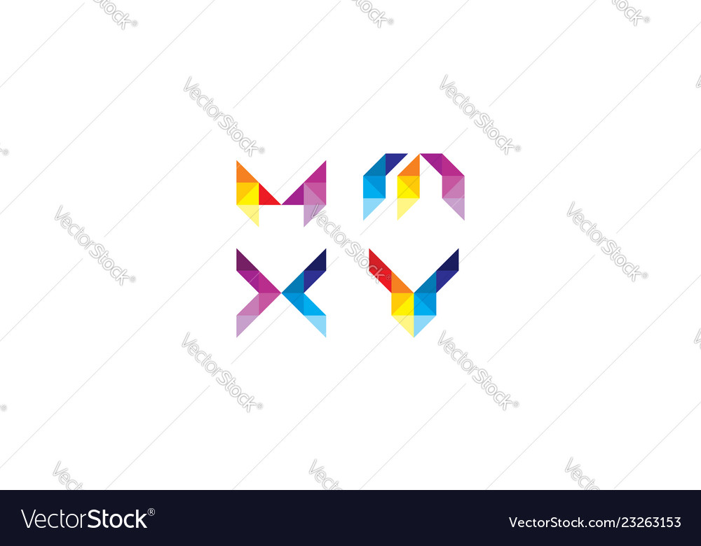 Abstract geometric logo icon