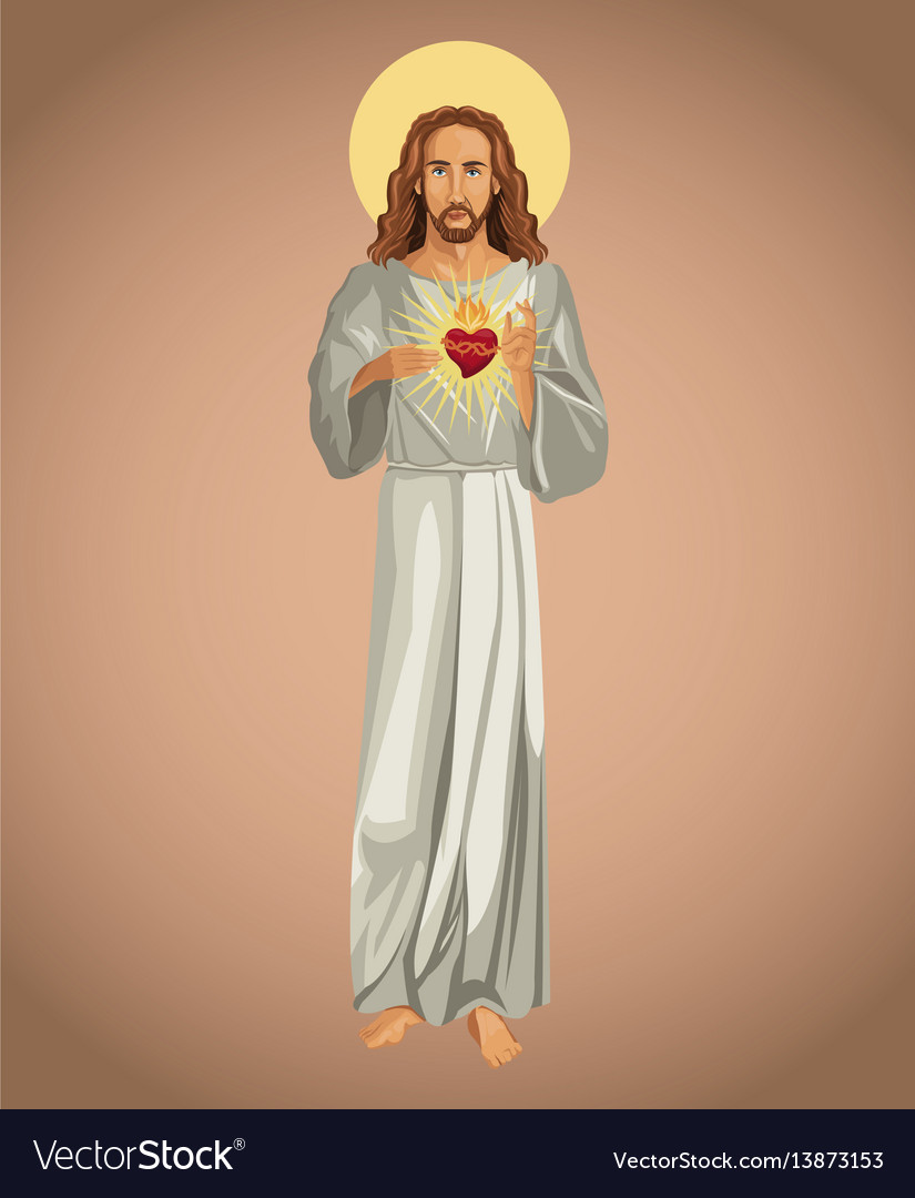 Jesus christ sacred heart spirit