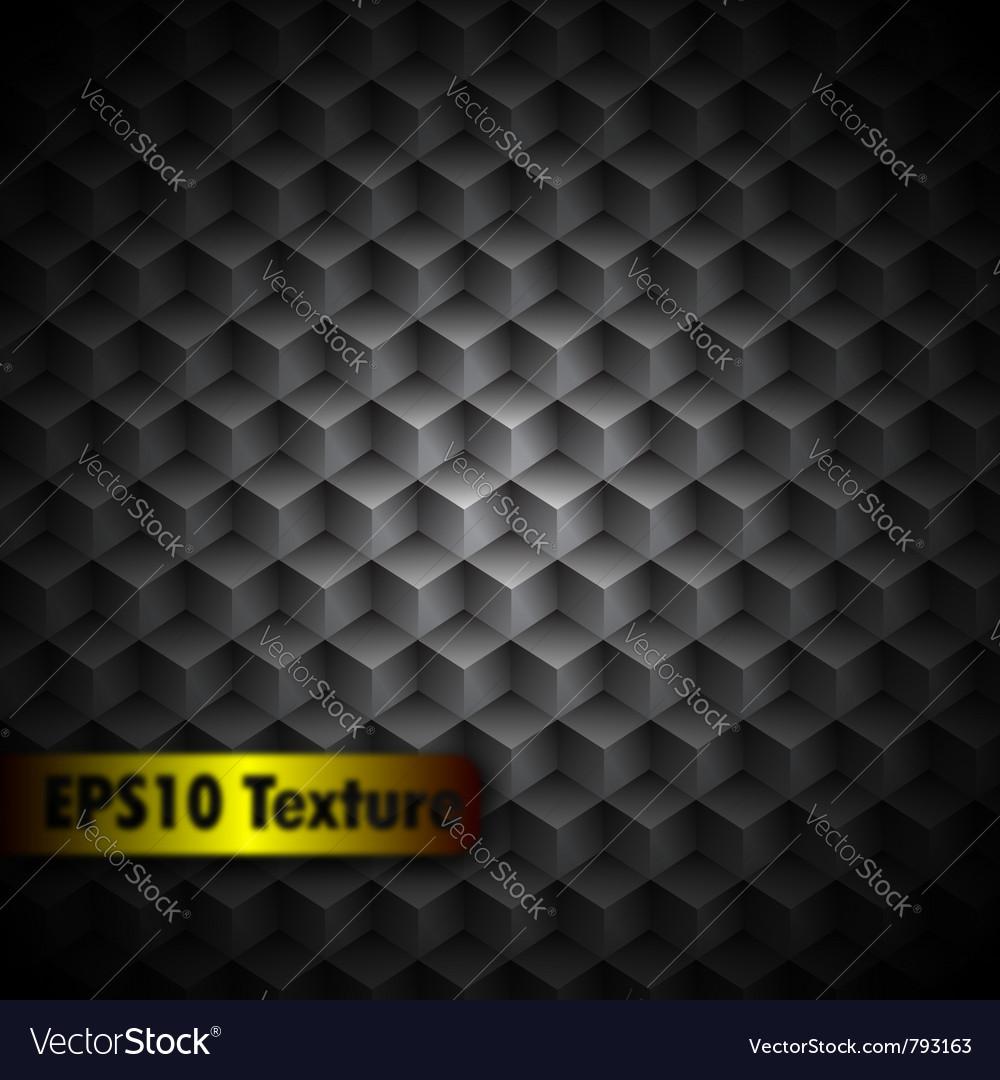 Cubic metal texture vector image