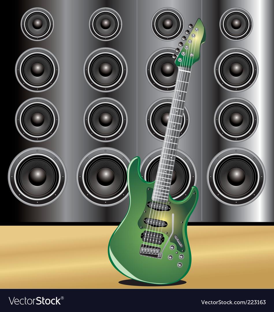 Guitar loudspeaker