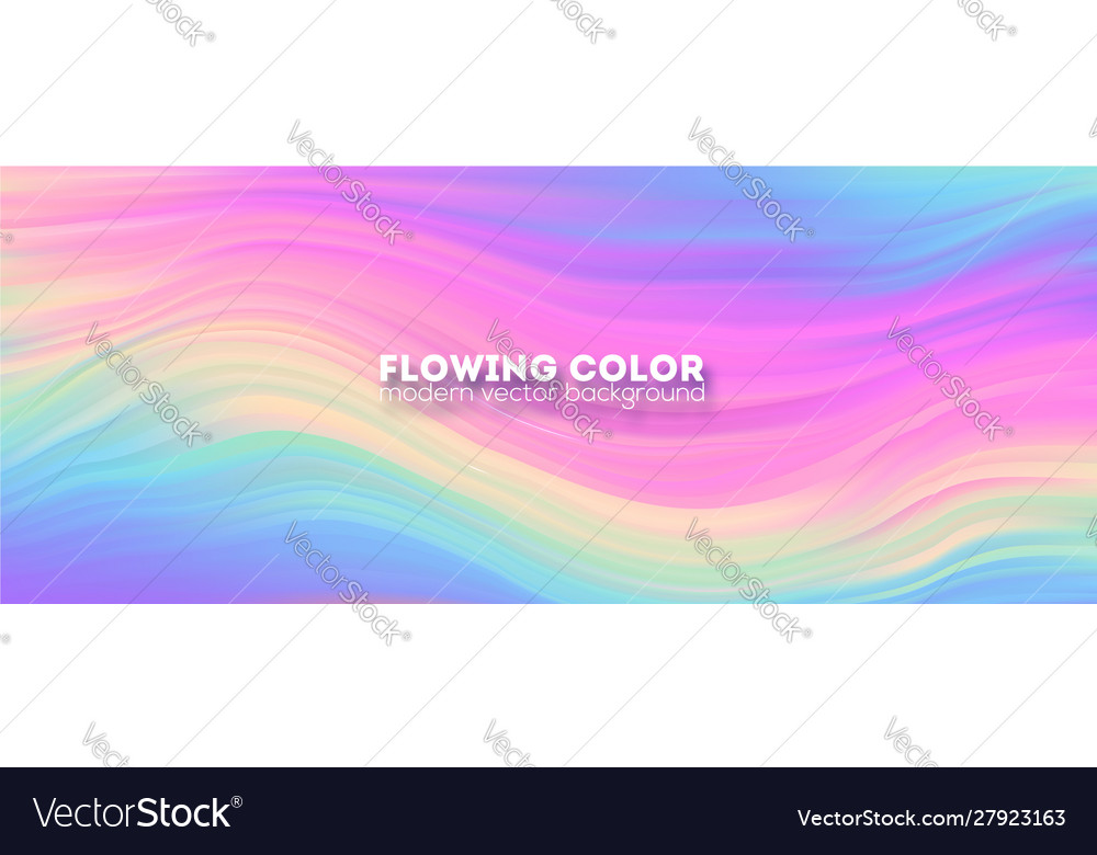 Stream colorful liquid shape transitions of
