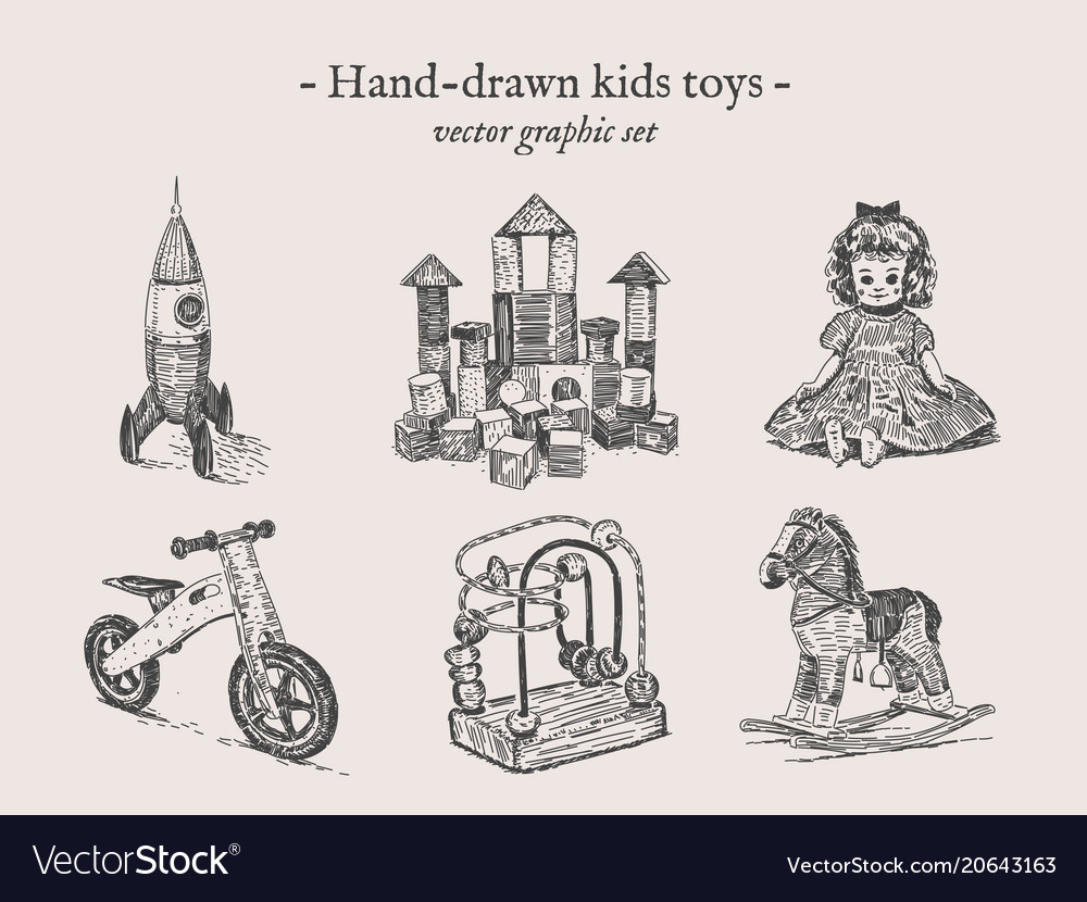 Toys hand-drawing set
