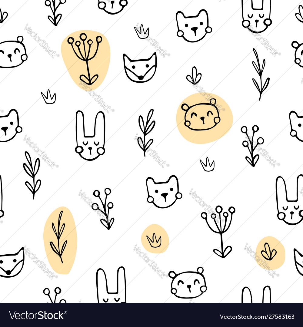 Yellow cute animals