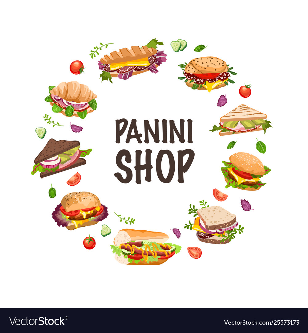 Sandwiches and panini