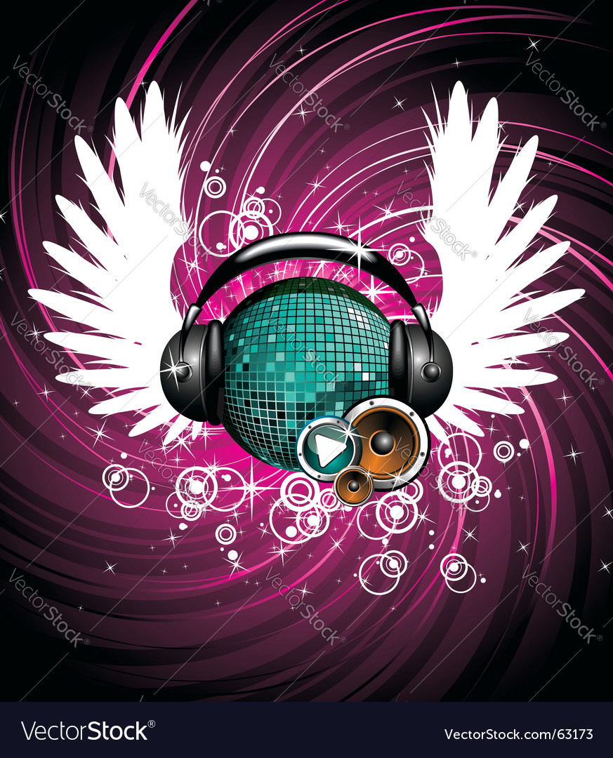 Wings and headphone