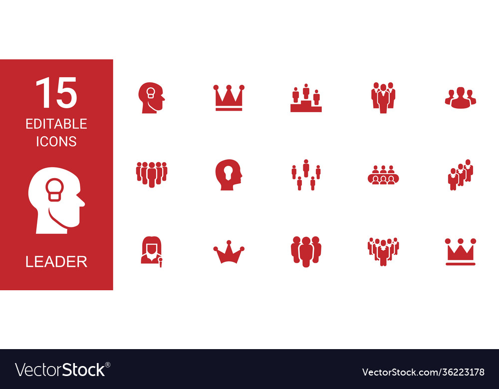 15 leader icons