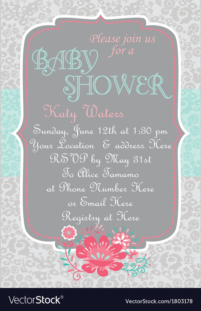 Baby-Shower CountryChic