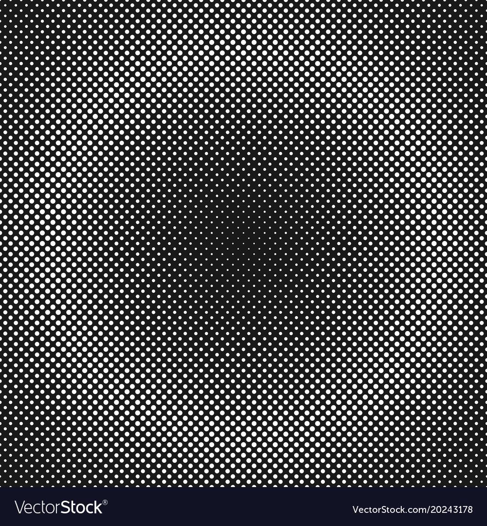 Geometric halftone dot pattern background vector image