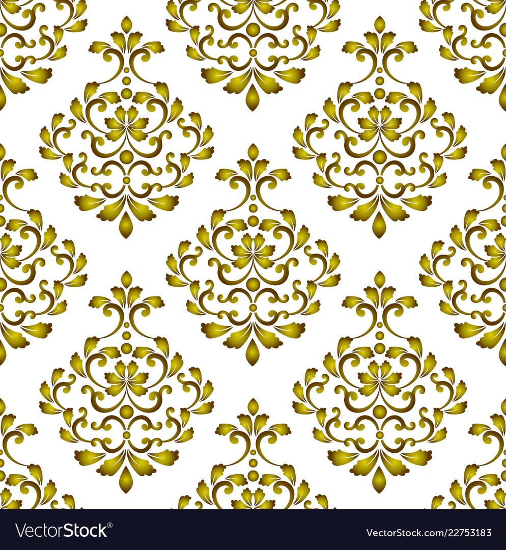 Gold decorative background